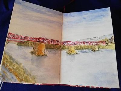 Puente sobre el Ebro en Tortosa